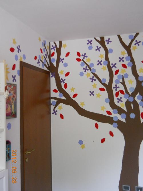 Pareti decorate - Albero su parete ...